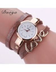 bracelet leather watches images Luxury crystal bracelet watch women watches gold watch leather jpg