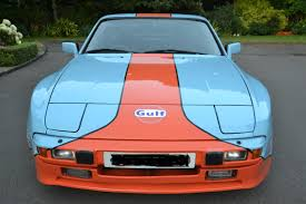 gulf car racecarsdirect com porsche 944 2 5 in gulf racing colours