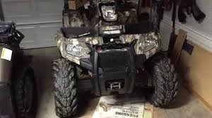 how to install a winch 2014 polaris sportsman 570 winch install