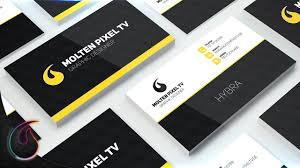 visitenkarten design erstellen visitenkarte erstellen photoshop tutorial hd molten