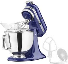 kitchenaid artisan stand mixer 5 quart cobalt blue