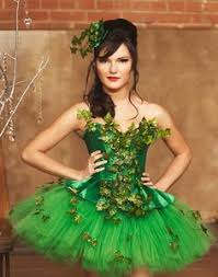 Halloween Poison Ivy Costume Recycle Reuse Renew Mother Earth Projects Poison