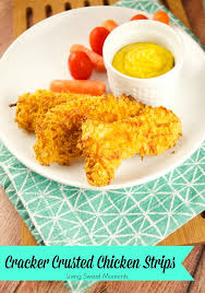 cracker crusted chicken strips recipe tutorial living sweet