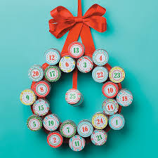 diy advent wreath idea orientaltrading com christmas