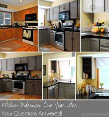 kitchen makeover update one year later jenna burger there