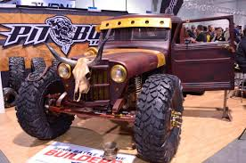 las vegas monster truck show rat rods at the 2016 sema show