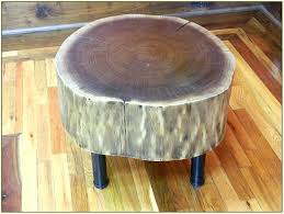 tree trunk bedside table log bedside table medium size of tree stump side tables best ideas