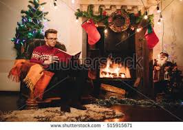 happy sweater sitting front stock photo 515915671