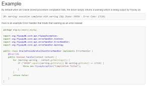 tutorial oracle stored procedure flyway by boxfuse on twitter do you wish you could fail a