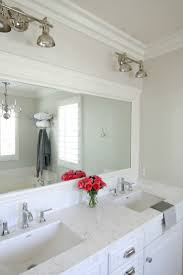 bathroom framing bathroom mirror ideas for decor diy frame your