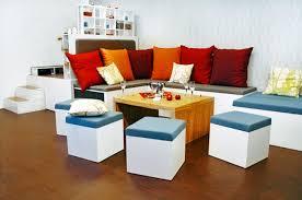 Modern Space Saving Furniture by Amazing Space Saving Furniture Stacks Like Nesting Dolls