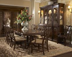 Two Pedestal Dining Table Buy Hyde Park Double Pedestal Dining Table By Fine Furniture