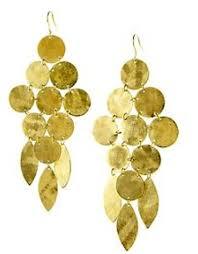 chandelier earrings chandelier earring gold as seen on pretty emily dees