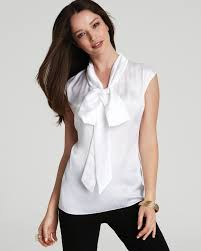 bow tie blouse how to tie a bow neck blouse black dressy blouses