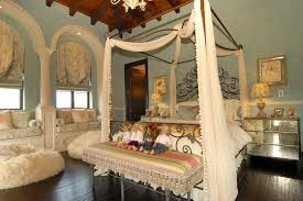terrific canopy bed drapes decorating ideas images in kids