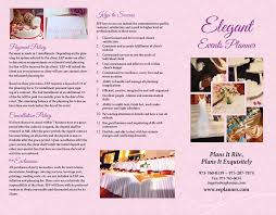 event planner event planner brochure narcisos printing inc