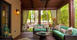 Screened In Patio Designs Decorating A Screened In Porch Screened In Patio Decorating Ideas