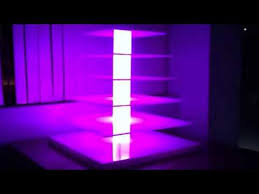 cupcake stand with led lights led 6 tier cupcake stand youtube