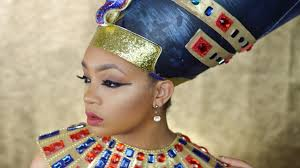 Nefertiti Halloween Costume Queen Nefertiti Halloween Tutorial Lingywashere
