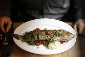 yehuda gefilte fish eat this now whole roasted black bass gefilte at abe fisher