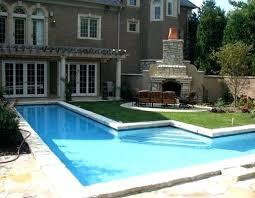 pools for small backyards feng shui backyard with small pool