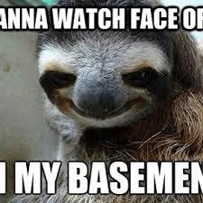 Creepy Meme - faceoff sloth creepy instadaily meme syfy michael faust flickr