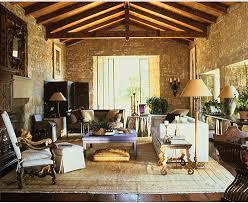 Tuscan Style Rugs John Saladino U0027s Romantic Modernism Relies On Oushak Rugs