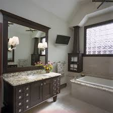 Modern Small Bathroom Design Ideas Bathroom Square Under Mount Vanity Sink With Duo Tone Tile