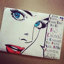 Decorated Envelopes Best 25 Envelope Art Ideas On Pinterest Decorated Envelopes