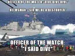 Navy Meme - dive dive dive meme on imgur