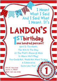 dr seuss 1st birthday dr seuss 1st birthday personalized invitations alanarasbach