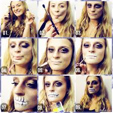three halloween makeup tutorials that will teach you basic makeup