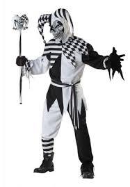 nobodys full halloween scary jester costume escapade uk