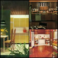 avocado green kitchen cabinets 1970s kitchens in warm autumn tones