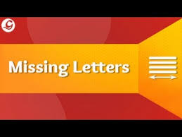 fill in the missing letters class 2 youtube
