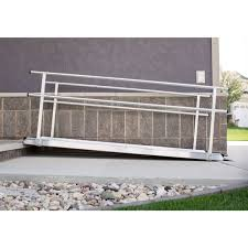 Wheelchair Ramp Handrails Ez Access Gateway Aluminum Wheelchair Ramps With Handrails