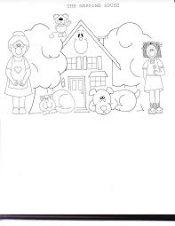 napping house coloring pages coloring home