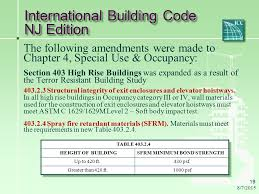 International Building Code Health Facilities Design What U0027s New In New Jersey Ppt Download