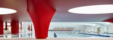 World Interior Design Vox U0027s Winning Interior Of World Class Fitness Club Has A Splash Of