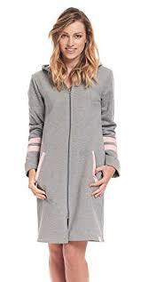 femme de chambre x dn nightwear robe de chambre femme gris x large amazon fr
