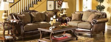 interior antique living room furniture design vintage look