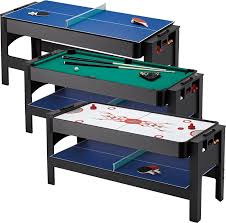 3 in one foosball table amazon com fat cat original 3 in 1 6 foot flip game table air