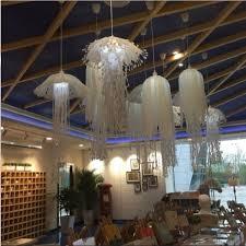 Esszimmerlampe H Enverstellbar Künstlerische Quallen Form Design Pendelleuchte Hängenden E27