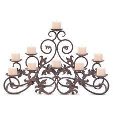 decorating pillar candle candelabra candelabras for fireplace