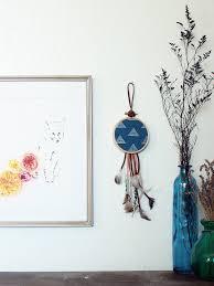 modern bohemian wall hanging package tie on boho dreamcatcher