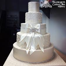 wedding cakes with bling bling buttercream cake palermo s custom cakes bakery