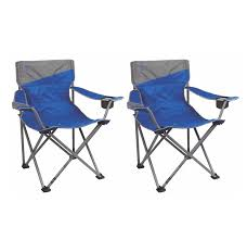 Patio Furniture For Big And Tall by 2 Coleman Camping Outdoor Beach Folding Big N Tall Oversized Quad