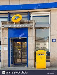 bureau de poste nancy la poste post office building europe stock photo