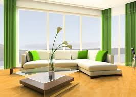 Green Curtains For Living Room by Drawing Room Tags Green Living Room Decorated With Shocking Spot