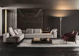 Minotti Andersen Sofa Modular Sofa Contemporary Fabric By Rodolfo Dordoni Yang